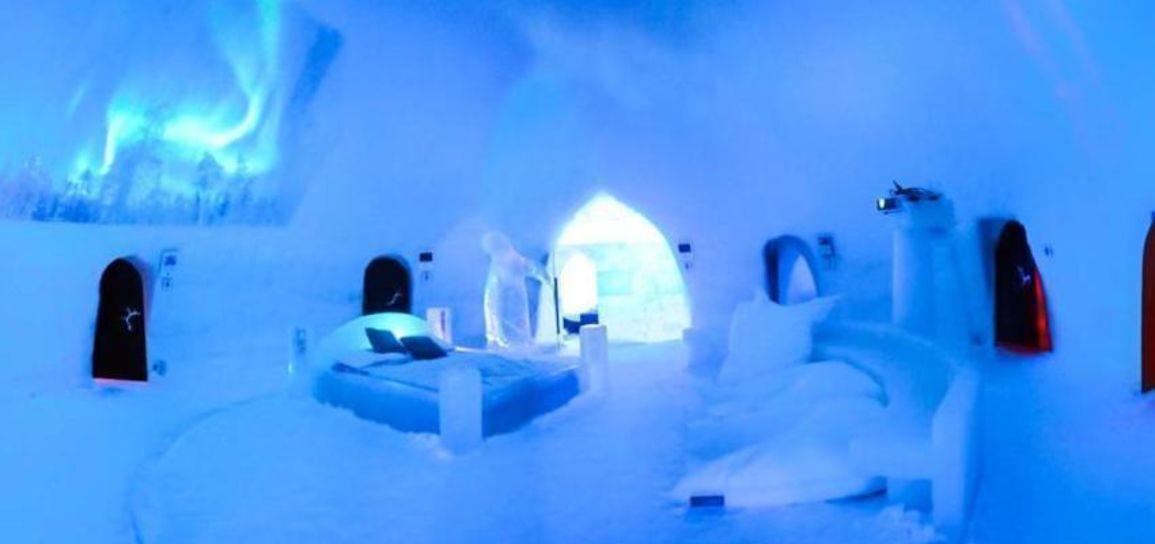 hôtel de glace, Laponie