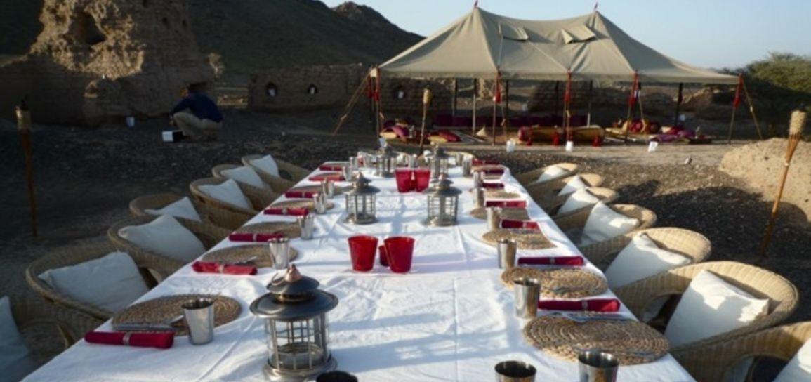 Camp privatif, massif de l'Hajar