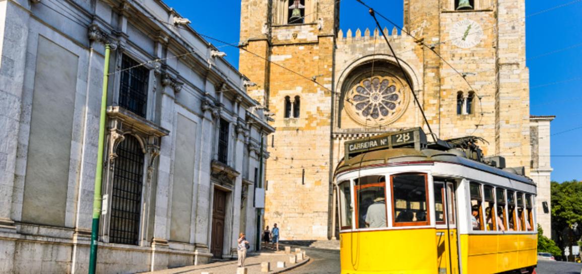 Tramway de Lisbonne, Portugal