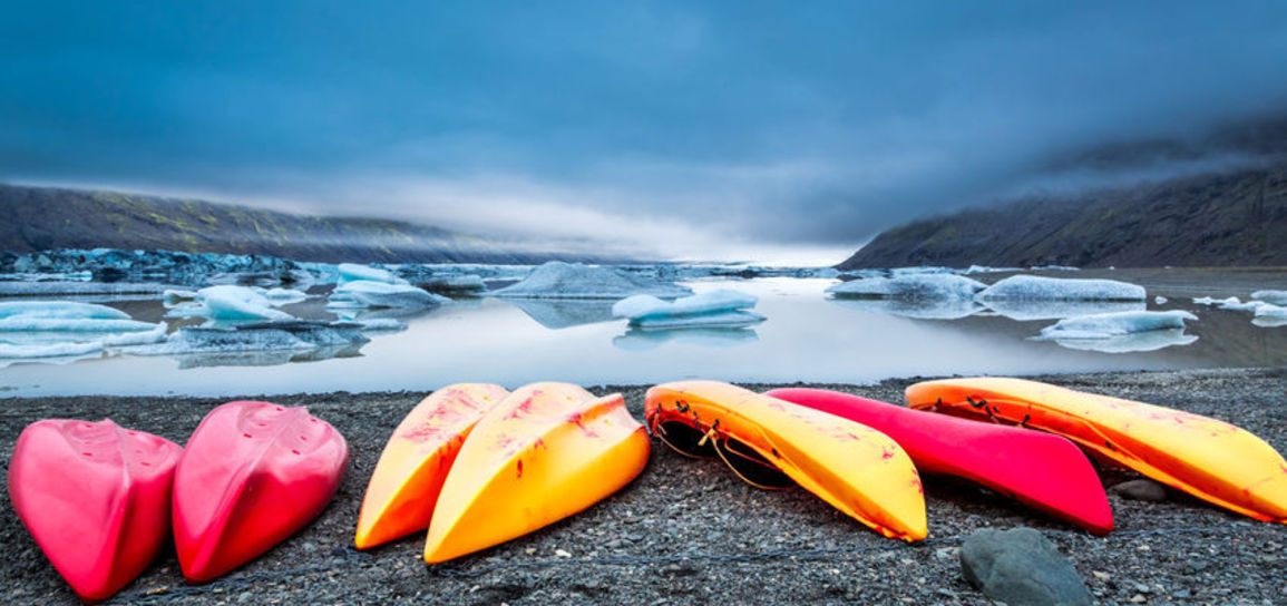 Sortie en kayak, Islande