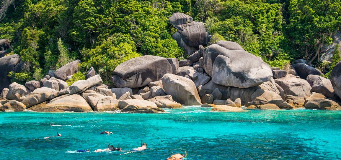 snorkeling, Thailande