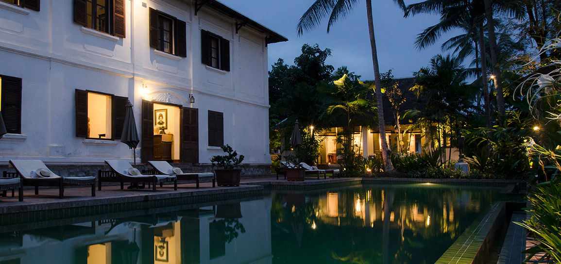 hôtel de charme, Luang Prabang