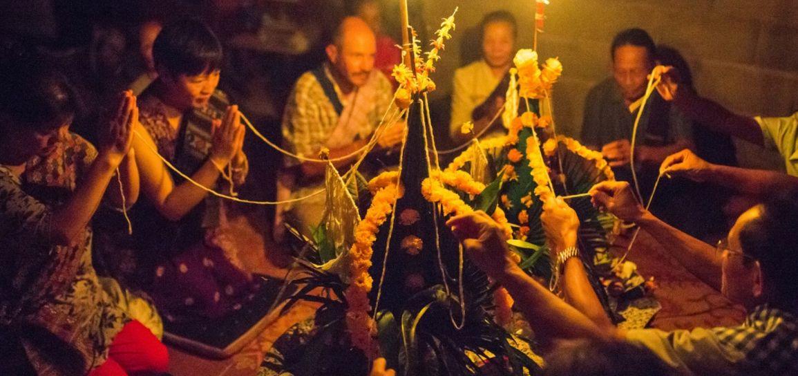 cérémonie Baci, Laos