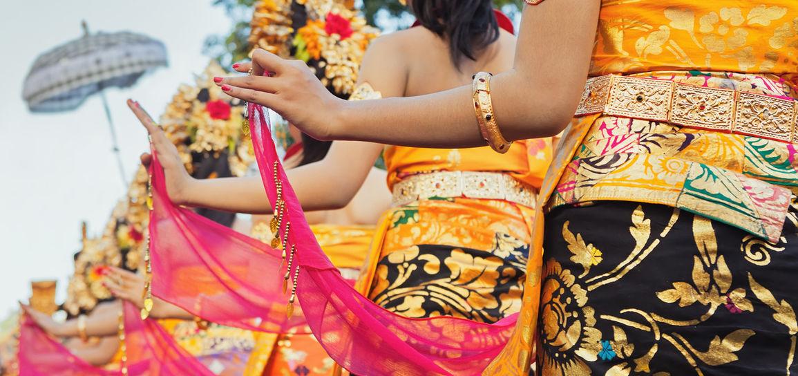 Procession, Bali, Indonésie