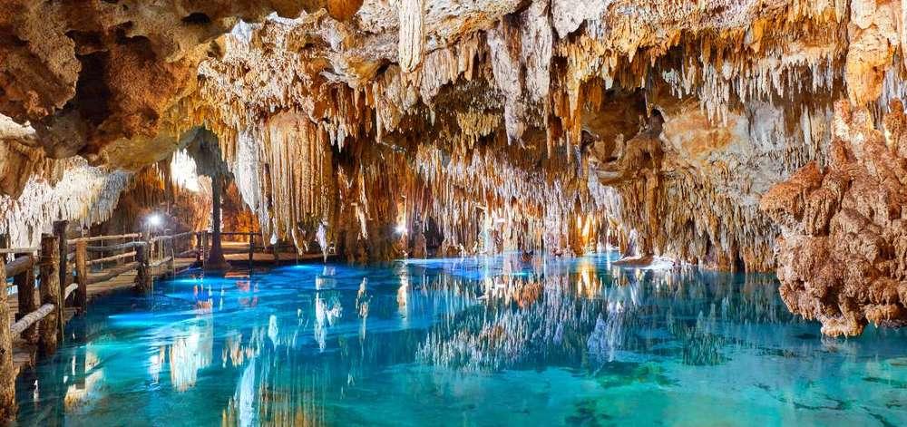 Caverne Tulum, Mexique