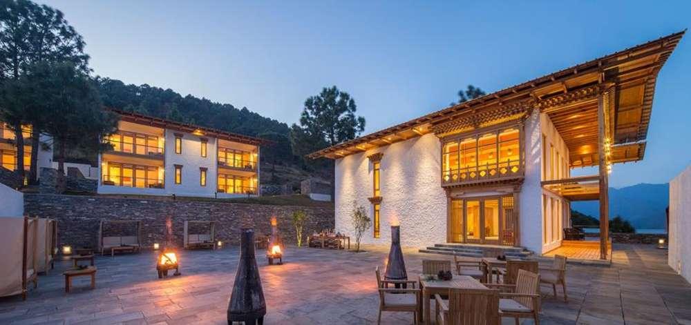 hôtel de charme, Punakha