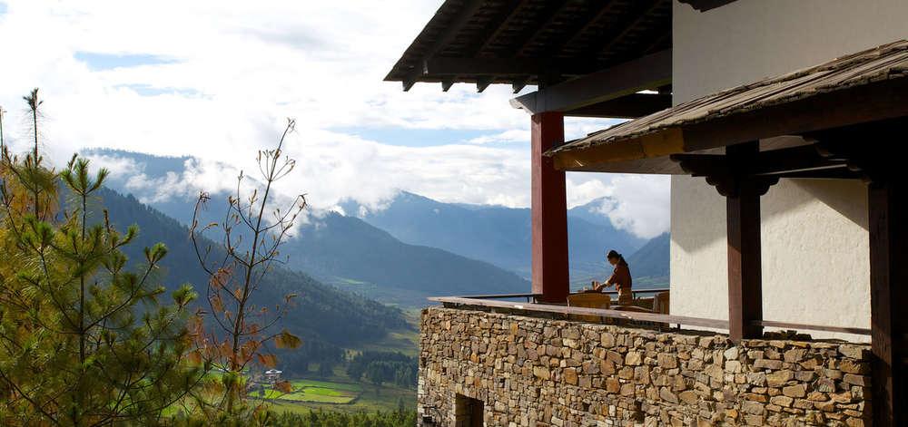 hôtel de charme, vallée de Phobjikha