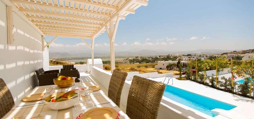 hôtel de charme, Naxos