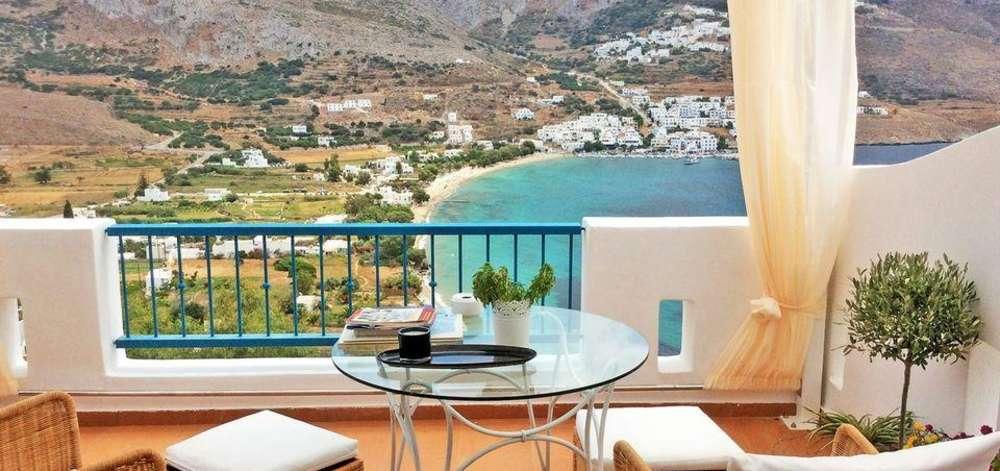 hôtel de charme, Amorgos