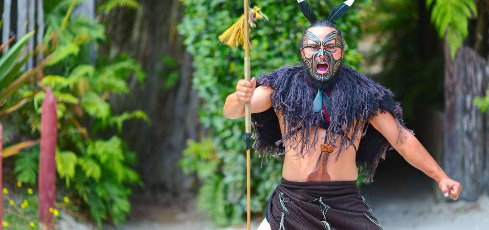 Spectacle Maori, Nouvelle-Zélande