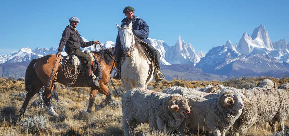 Gauchos de la Pampa Patagone