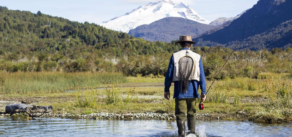 Pêche à la Mouche au pied des Andes