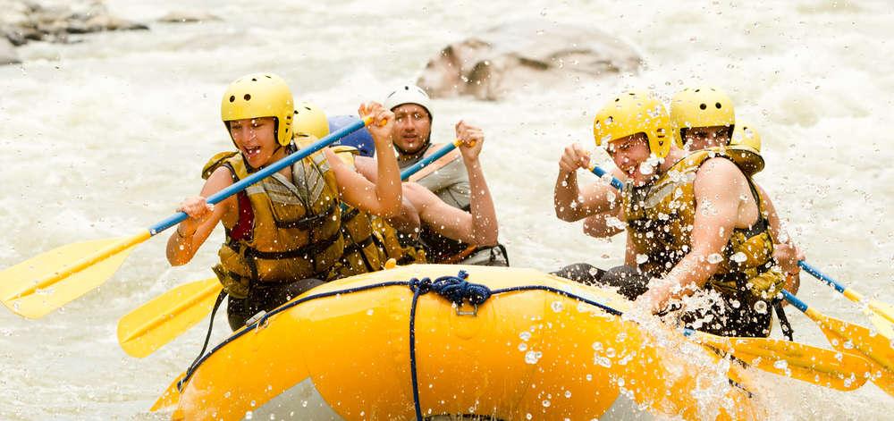 Rafting dans les Rivières des Andes