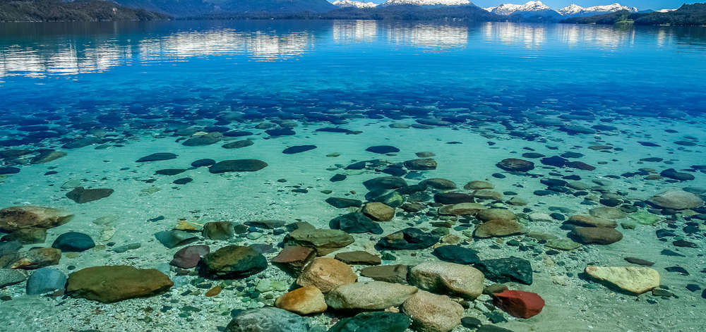 Eaux Translucides du Lac Argentin