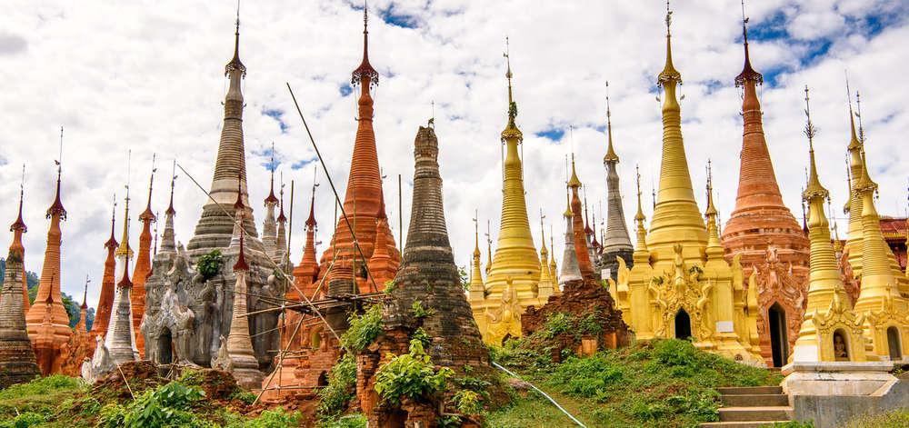 Indein, Birmanie