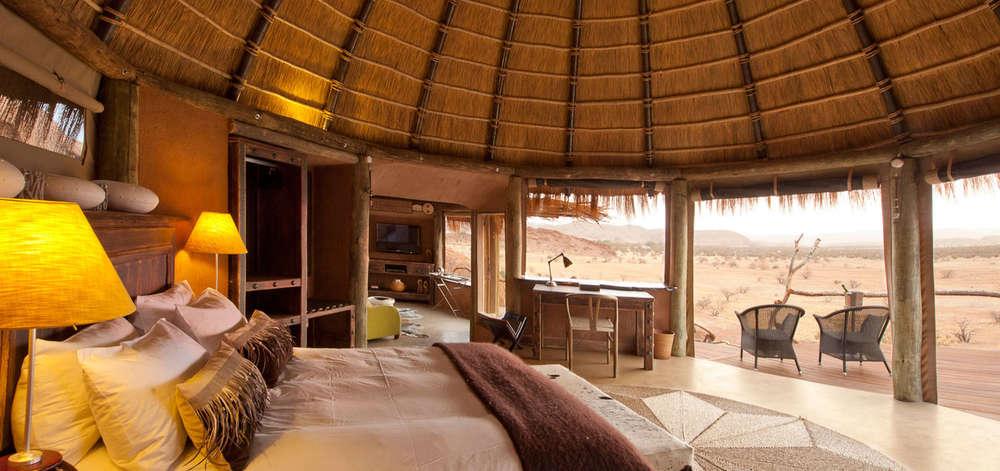 Camp de Charme dans le Damaraland