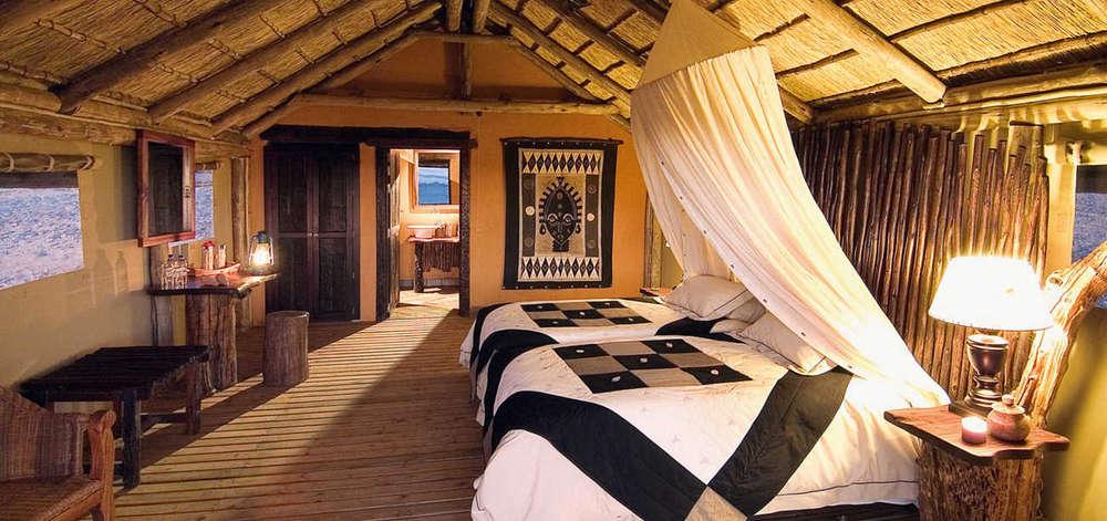 Lodge de Charme dans le Désert du Namib