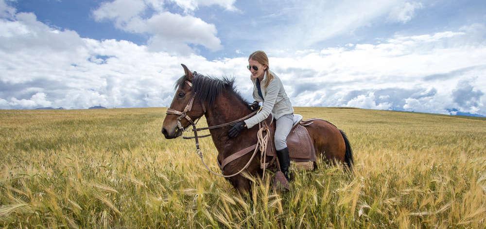 Balade à cheval dans la Pampa