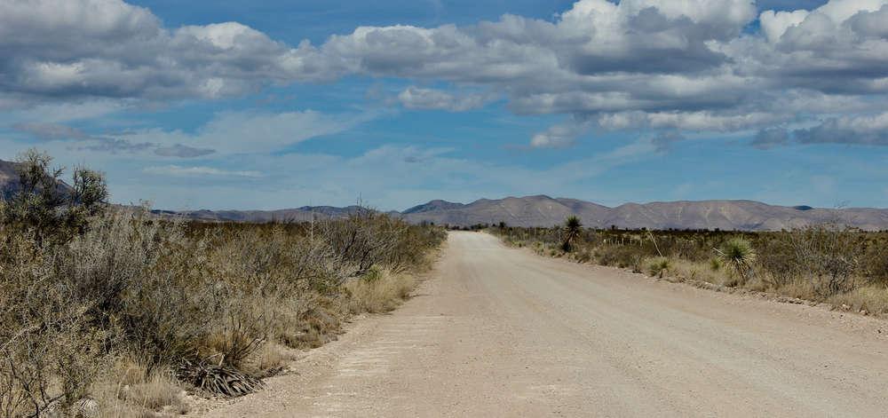 Route vers Marfa, Texas
