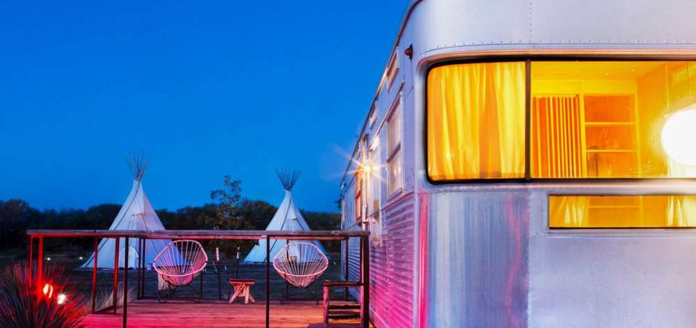 Hébergement de charme, Marfa, Texas