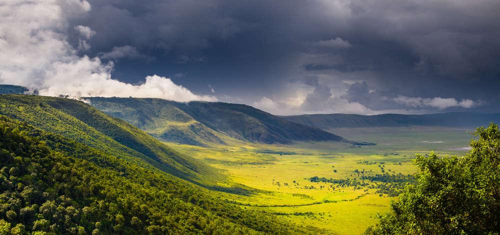 Caldera du Cratère Ngorongoro