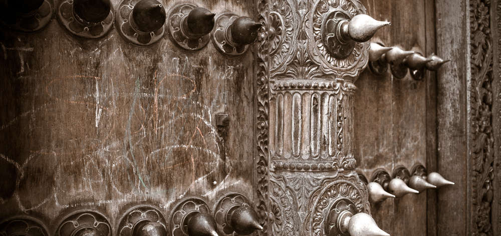 Portes Omanaises Sculptées