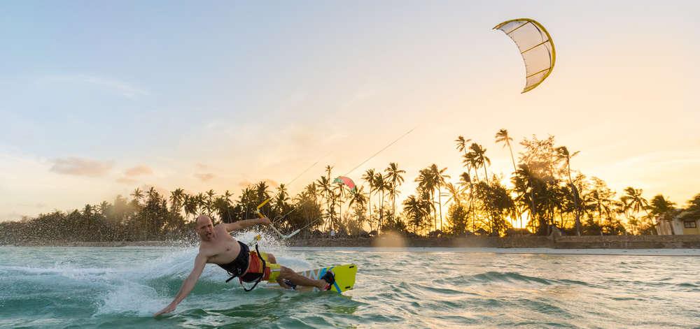 Kite Surfeur à Paje