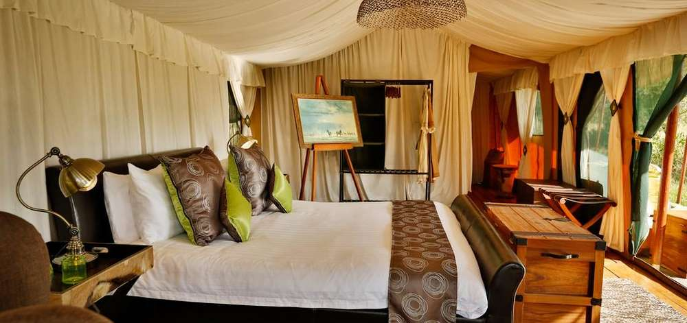Tented Camp de Luxe dans le Serengeti