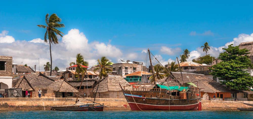 Lamu depuis la Côte