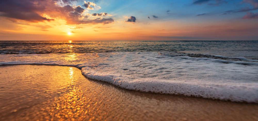 Coucher de Soleil sur la Plage de Shela