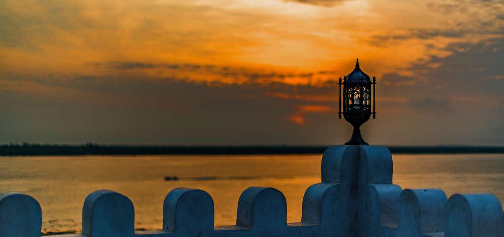 Coucher de Soleil depuis Lamu