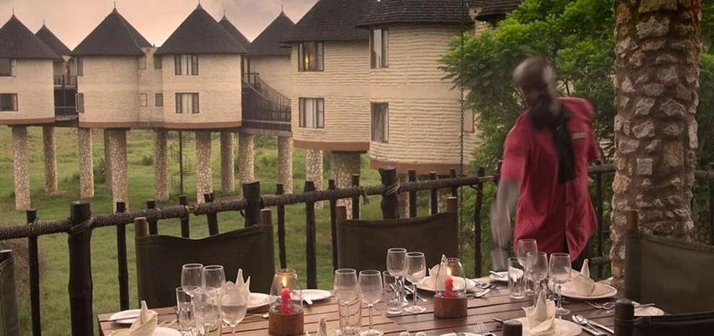 Lodge sur Pilotis dans les Taïta Hills
