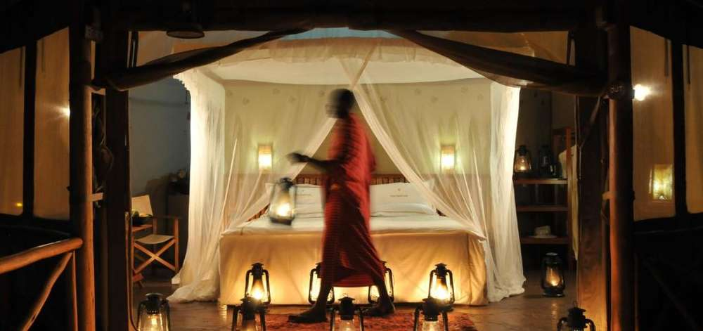 Camp de Charme à Tsavo