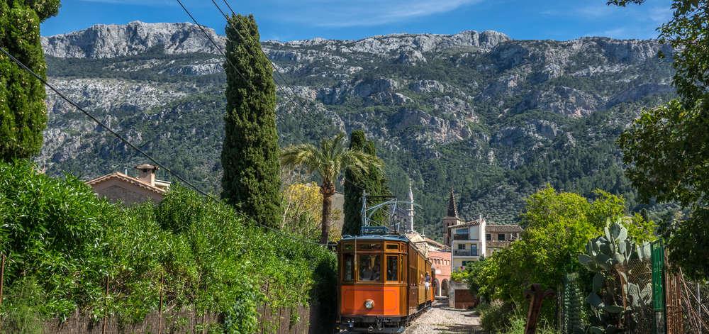 Vieux tramway, Soller, Majorque