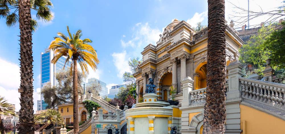 Centre ville de Santiago