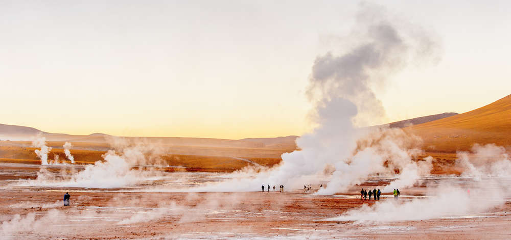 Champs géothermiques du Tatio