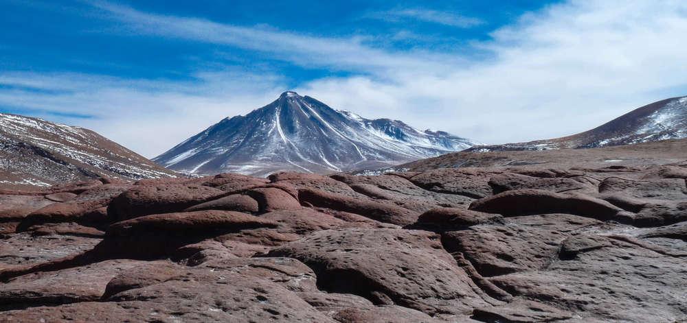Volcan des Andes