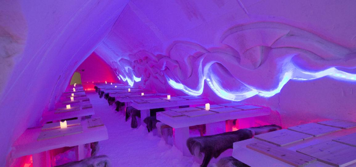 restaurant de glace