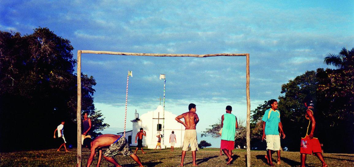 Partie de foot sur le Quadrado